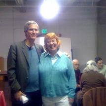SFAS President Linea Van Horn and Greg Bogart June 24 2010